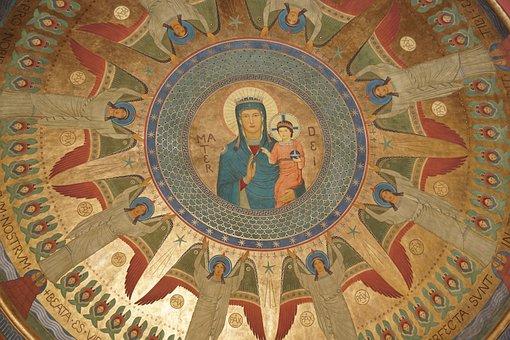 Beuron, Church, Monastery, Maria, Blanket, Catholic