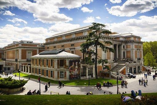 Madrid, Prado, Museum, Architecture, Art, Capital