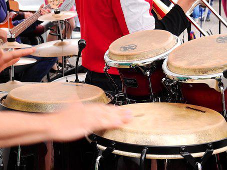 Band, Big Band, Drum, Music, Sound, Musical Instrument
