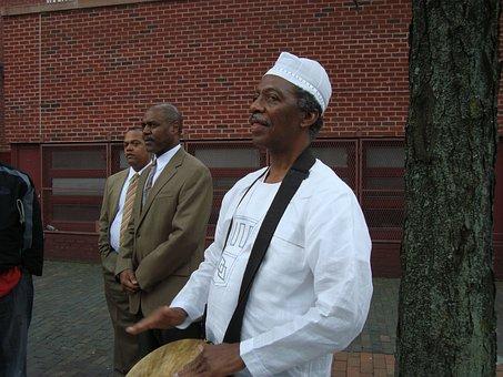 Drummer, African, Man, Drum, Culture, Musician, Black