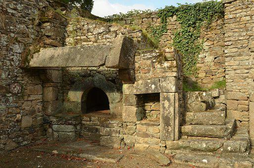 Oven, Stone Oven, Bread Oven, Bread, Food, Baking, Old