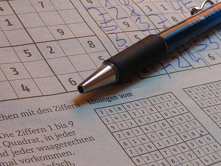 Sudoku, Pen, Puzzles, Pay, Leisure, Rates
