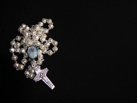 Pray, Rosary, Beads, Prayer, Catholic, Pope, Religion