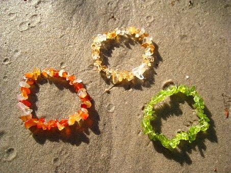Sand, Beach, Sliver Bracelet, Sliver Bracelets, Gems