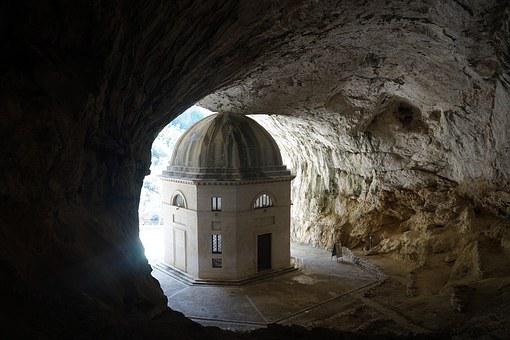 Temple Of Valadier, Spirituality, Cave, Soul, Temple