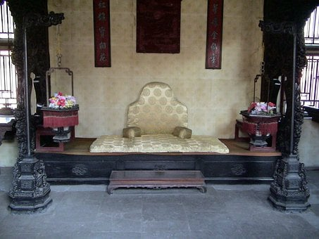 Shenyang, Liaoning, China, 2006, Palace, Famous, Throne