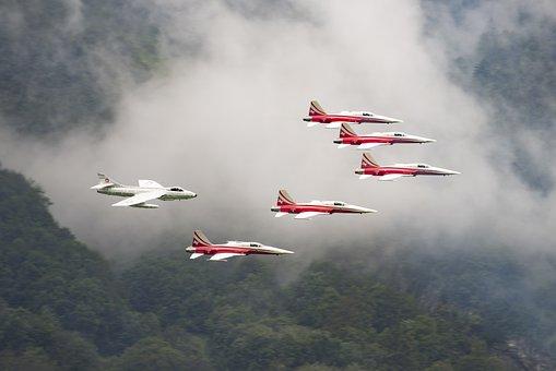 Patrol Suisse, Tiger, F-5e Tiger Ii, Switzerland