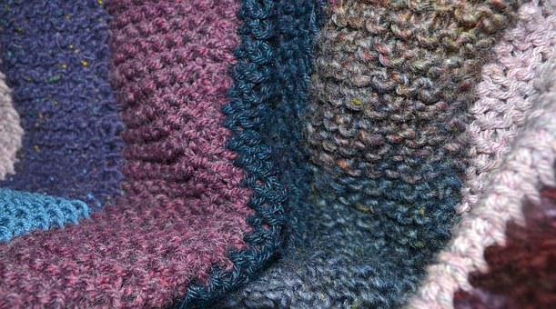 Quilt, Yarn, Knitted, Blanket, Colorful