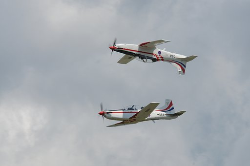 Aerobatics, Zeltweg, Flugshow, Flight Staffel, Flying