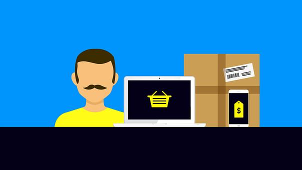 Ecommerce, Background, Web Design, Online Store, Apple