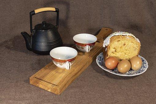 Easter, Tea, Cookies, Spring, Eggs, Bake, Pixie, Drink
