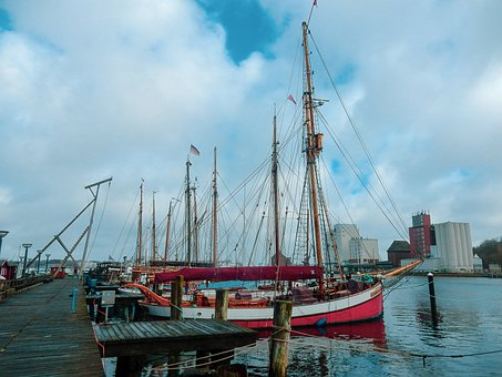 Harbour Museum, Flensburg, Dagmar Aaen, Sailing Vessel