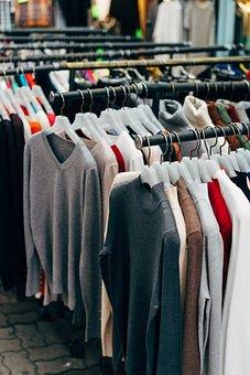 Garment Racks, Dress Shop, H M, Business, Music