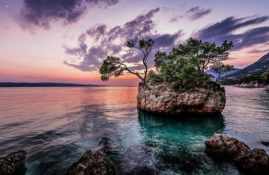 Sea, Beach, Island, Landscape, Ocean, Sky, Water, Coast