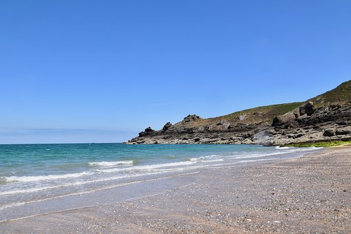 Seascape, Panoramic, Ocean View, Sea, Nature, Blue Sky