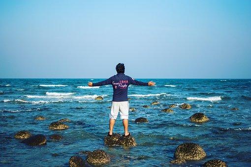 Bay Of Bengal, Sea, Sea Beach, Water, Sky, Beach