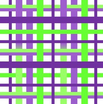 Plaid, Waffle, Gingham, Design, Lime, Purple, Violet