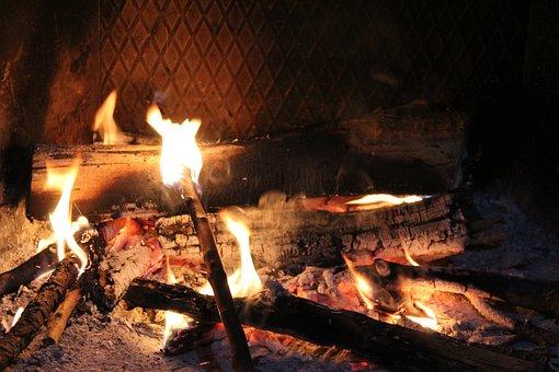 Heat, Fireplace, Home, Fire, Flame, Hot, Lighter, Blaze