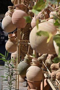 Handycraft, Clay, Heritage, Handmade, Nizwa, Oman, Asia
