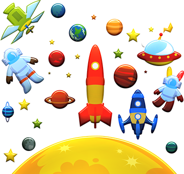 Astronaut, Space, Planets, Ufo, Extra-terrestrial, Mars
