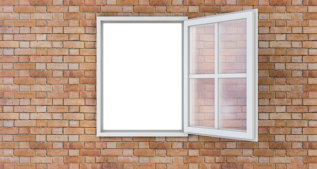 Windows, Open, Wall, Open Window, Home, Interior, House