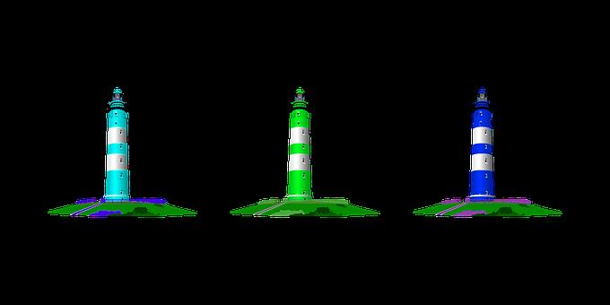 Lighthouse, Beach, Ocean, Sea, Nature, Coast, Water