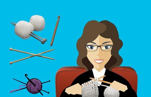 Knit, Sew, Woman, Craft, Homemake, Mom