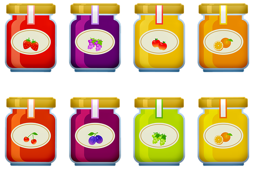 Jelly, Jam, Fruit, Breakfast, Food, Sugar, Sweet, Jar