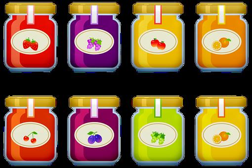 Jelly, Jam, Fruit, Breakfast, Food