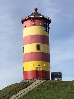 Lighthouse, Pilsum, Otto, North Sea, Places Of Interest