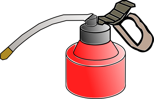 Oil Can, Oilcan, Oiler, Oil, Tank