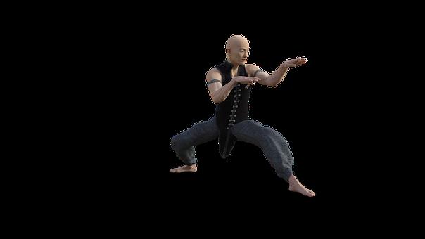 Kung Fu, Martial, Arts, Pose, Fighter, Sport, Tai Chi