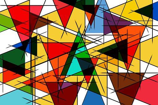 Color, Triangle, Triangles