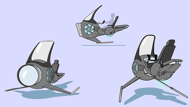 Hover Bike, Hover Vehicle, Anti-gravity Bike