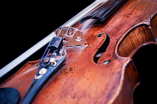 Violin, Bow, Instrument, Classic, Classical, Fiddle