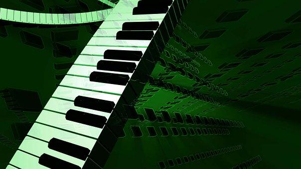 Music, Keyboard, Keys, Instrument, Concert, Sound
