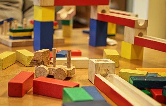 Building Blocks, Module, Children's Room, Toys, Build
