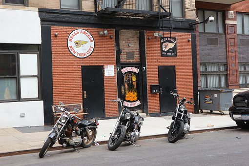 Hells Angels, Nyc, New Your City, Fire, Angel, Symbol