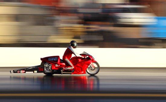 Drag Race, Racing, Speed, Drag, Transportation