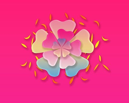 Flowers, 3d Flowers, 3d, Render, Fairy, Grass, Nature