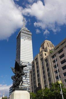 Architecture, Sky, Skyscraper, City, Urban, Buildings
