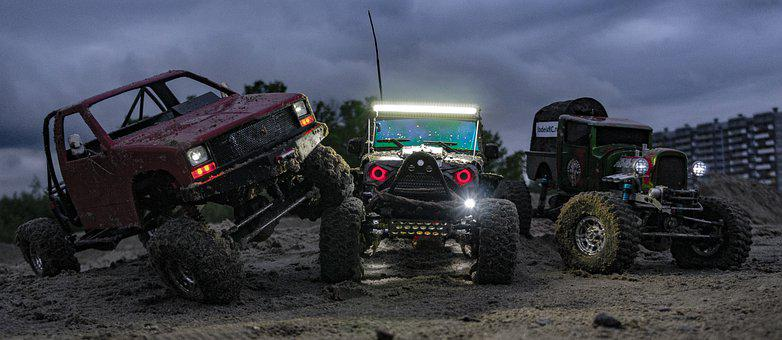 Rc, Rc Model, Jeep, Jeep Rubicon, Auto, Hobby, Modeling
