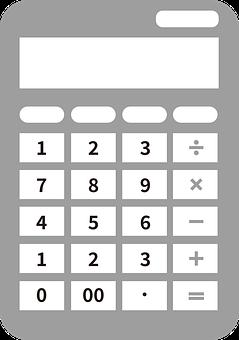 Calculator, Stationery, Math, Office, School, Computing
