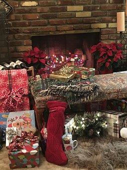Christmas, Presents, Holiday, Celebration, Present