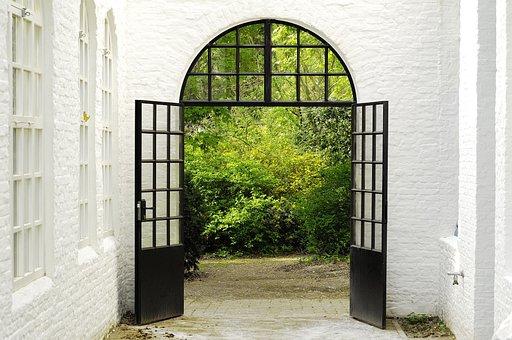 Door, Castle, Arc, Port, Architecture, Historical