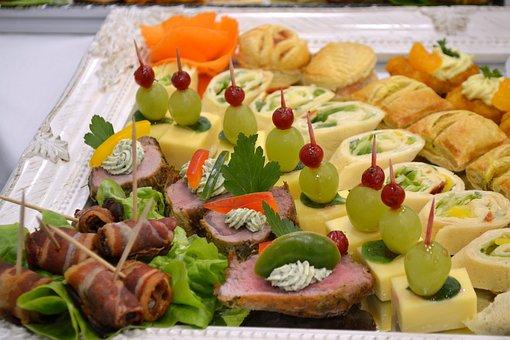 Buffet, Cheese, Cold Cuts, Menu, Eat, Healthy