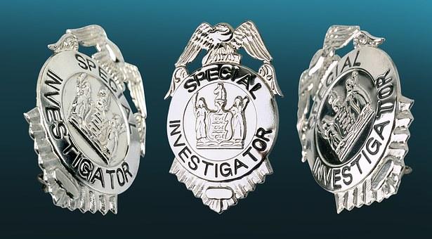 Investigator Icon, Police, Police Badge, Sheriff, Star
