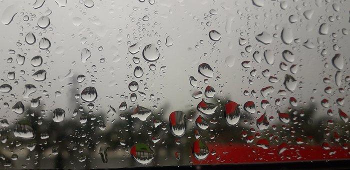 Water Drop, Water Drop On Windows, Water Drop On Glass