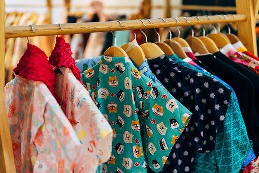 Fashion, Clothing, Garment Racks, Dress, Woman, Girl