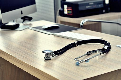 Stethoscope, Doctor, Bless You, Office, Healthy